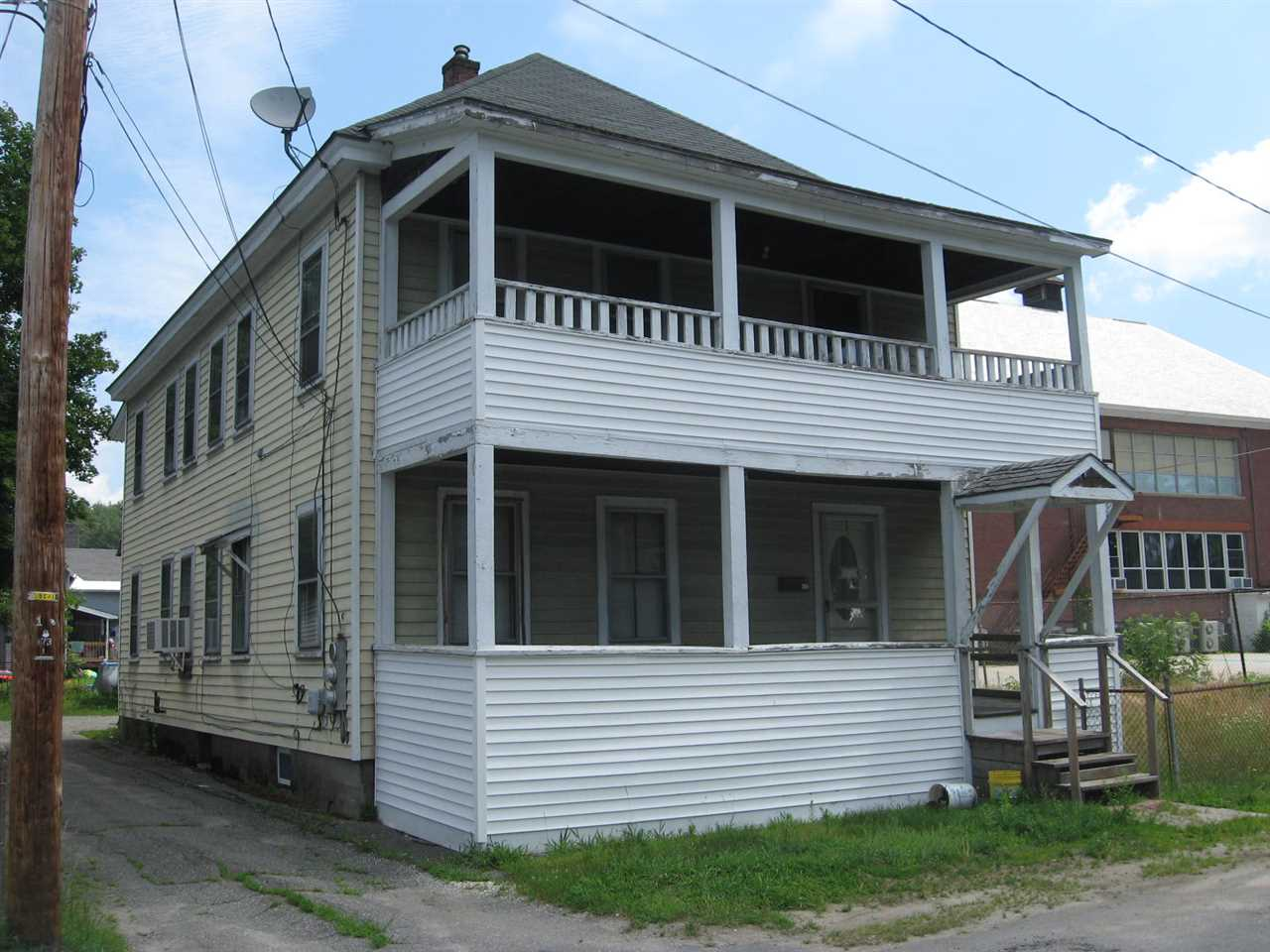 Claremont NH 03743Multi Family for sale $List Price is $72,000