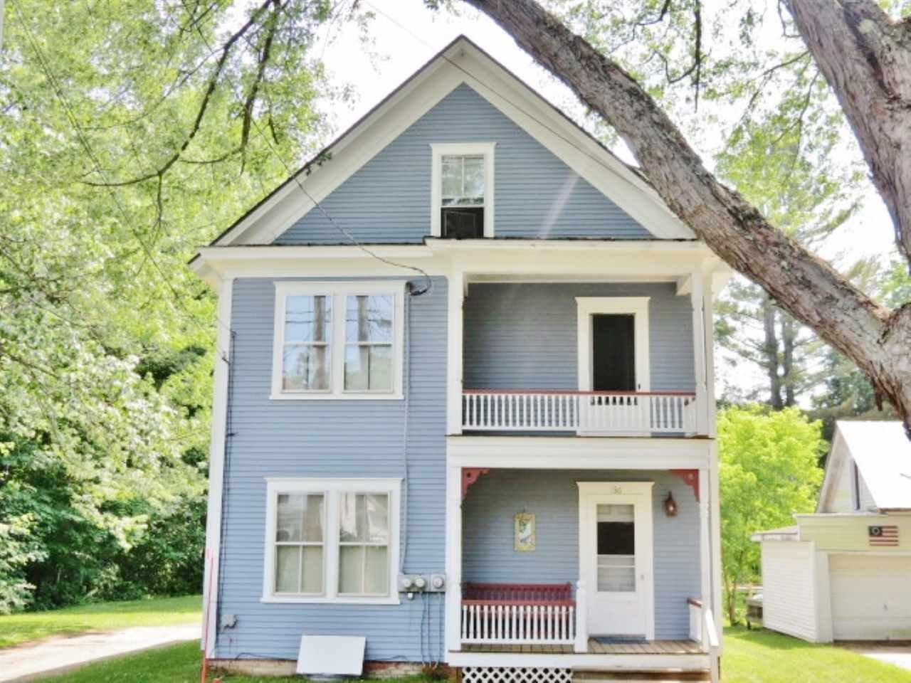 Village of Proctorsville in Town of Cavendish VT Multi Family for sale $List Price is $199,900