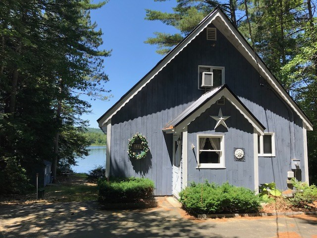 Lake Hermit Lake waterfront home for sale in Sanbornton