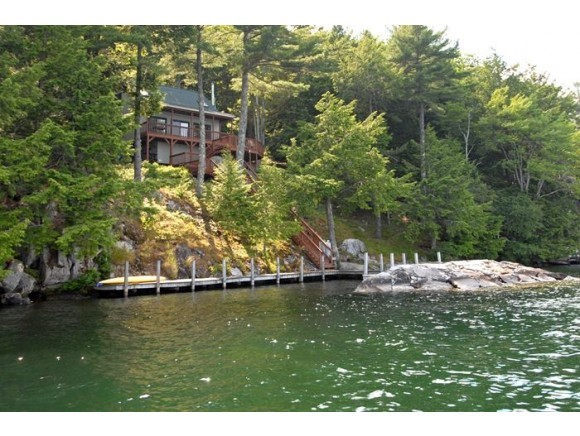 Lake Winnipesaukee waterfront home for sale in Alton