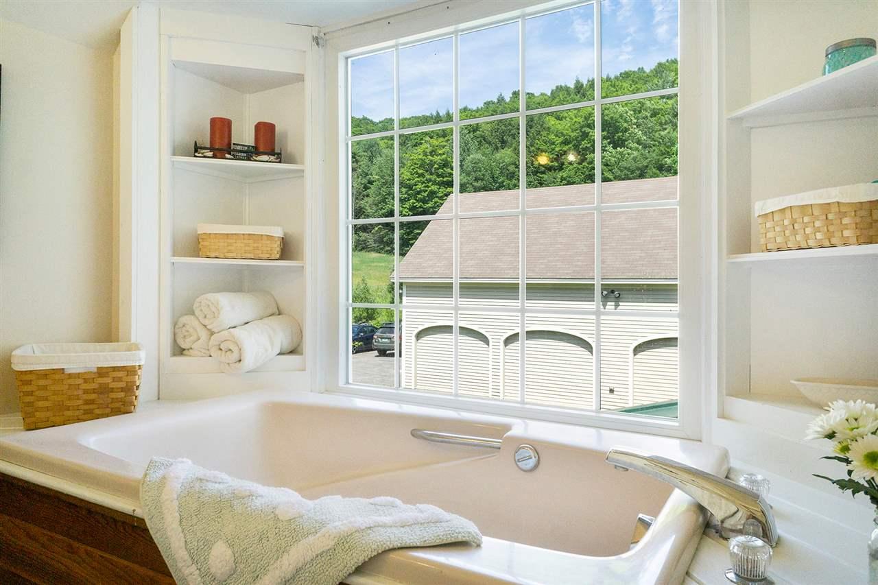 Bath and soaking tub, second level