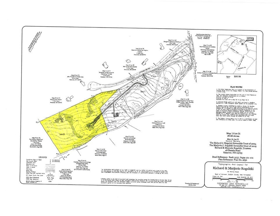 HANOVER NH LAND  for sale $$295,000 | 9.52 Acres  | Price Per Acre $0  | Total Lots 2