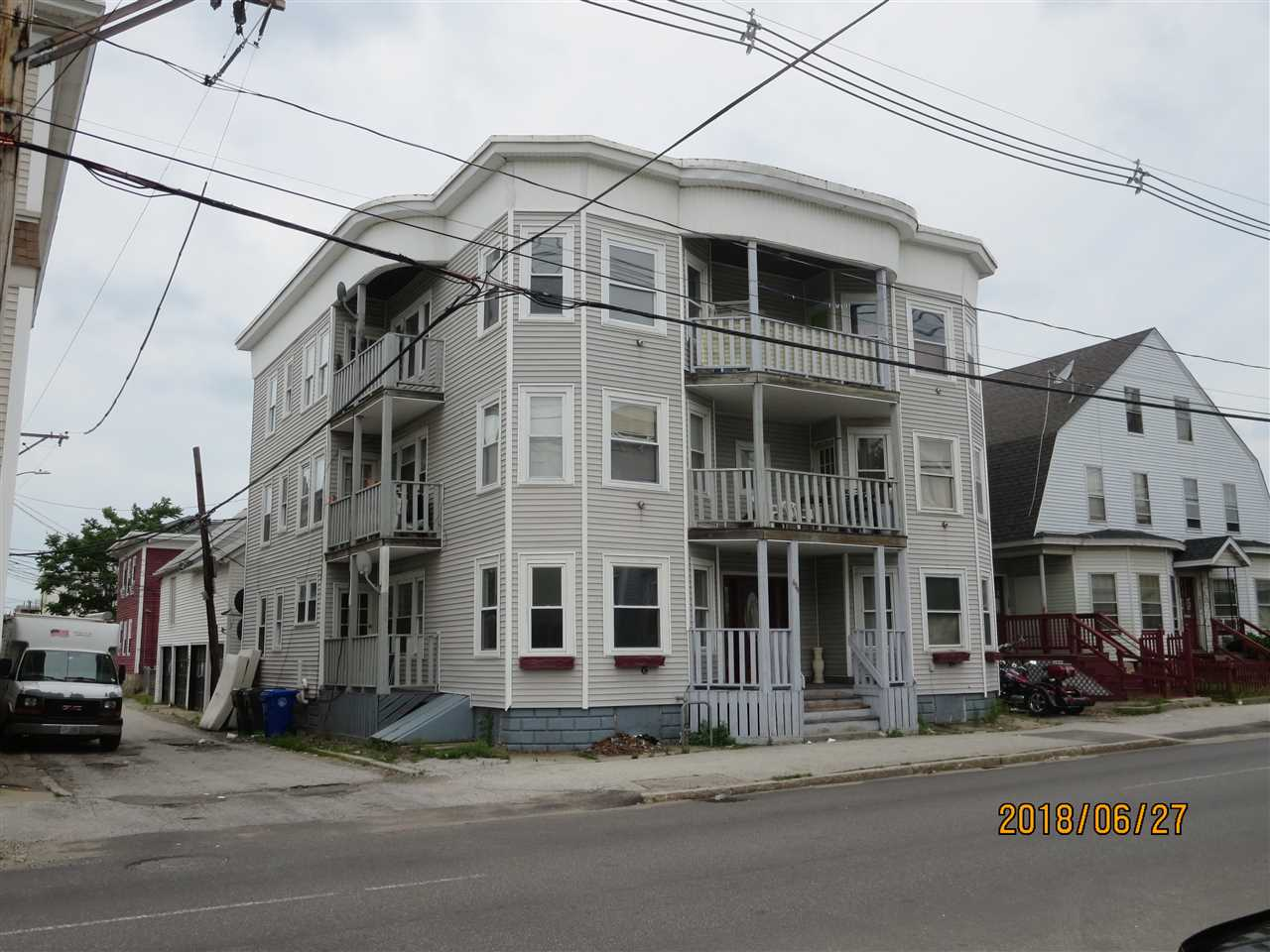 image of Manchester NH  6 Unit Multi Family | sq.ft. 7352