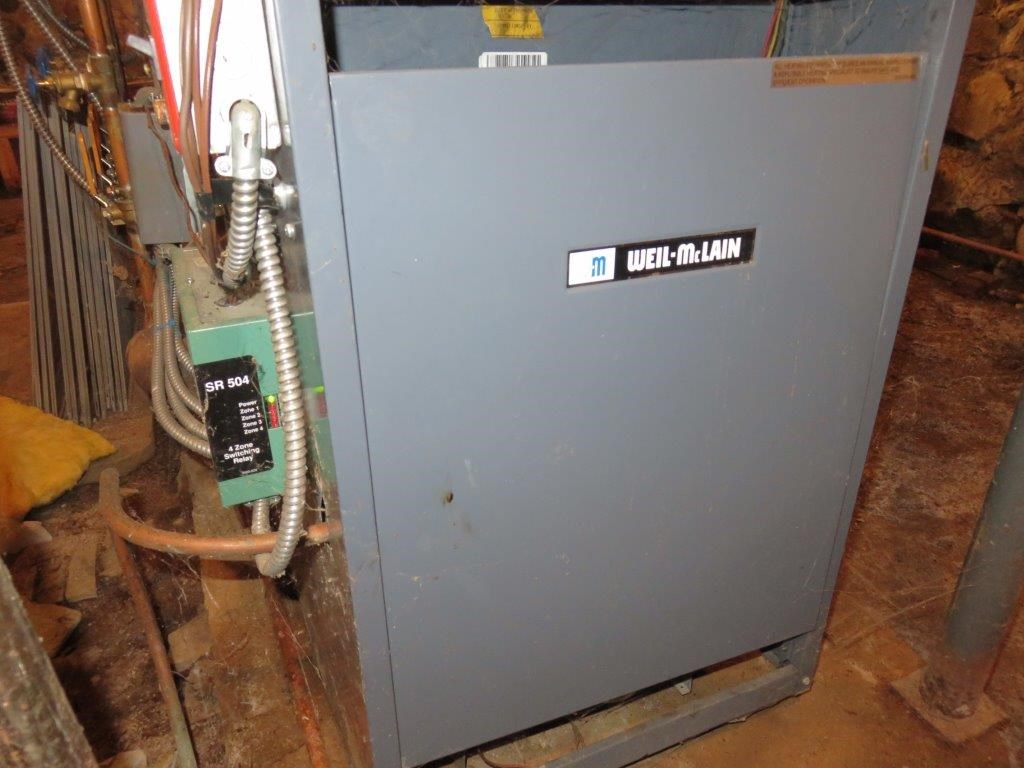 FHW propane heating system installed 2006