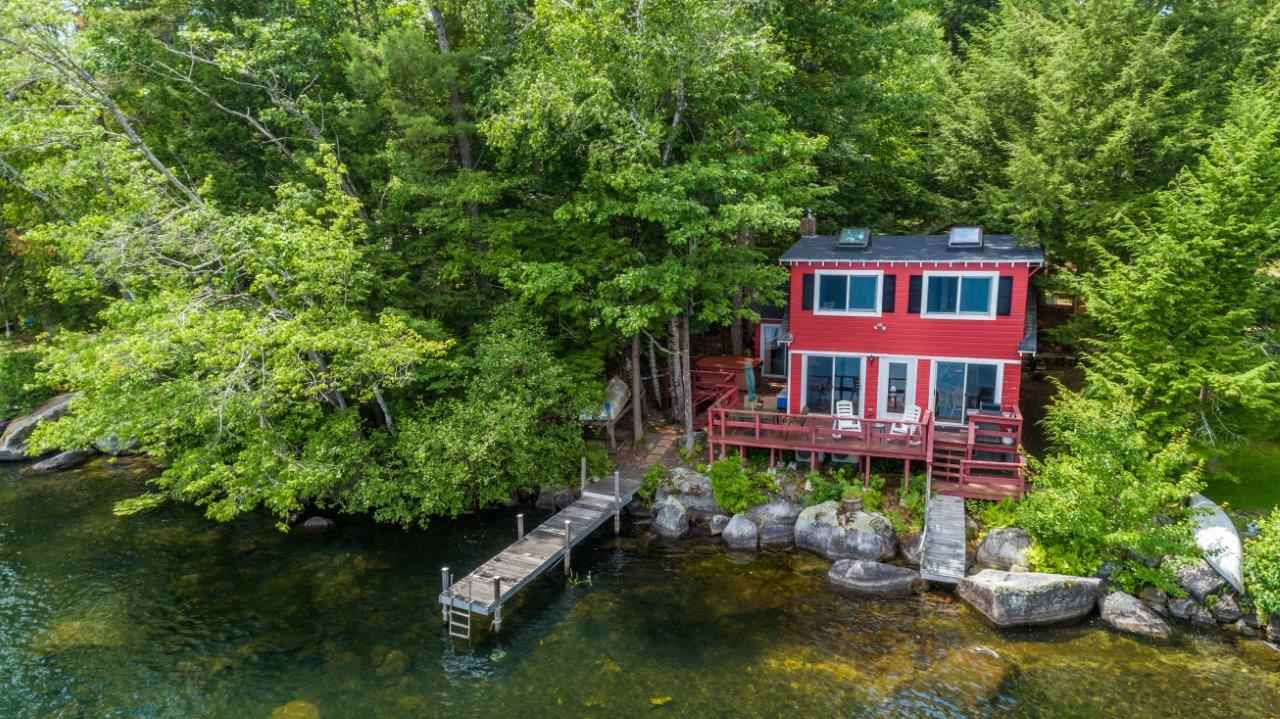 Lake Waukewan waterfront home for sale in New Hampton