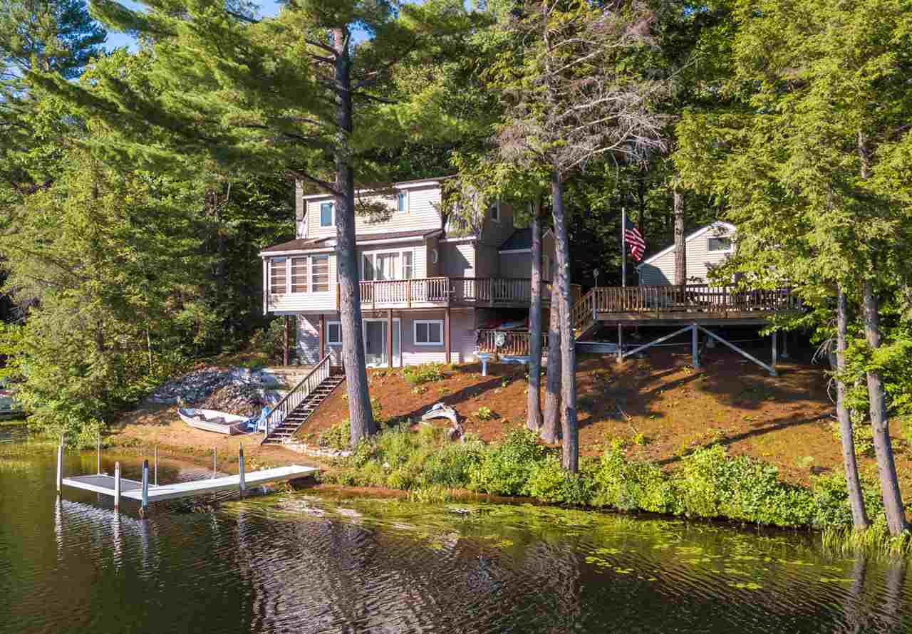 Lake Plumber Shore waterfront home for sale in Sanbornton