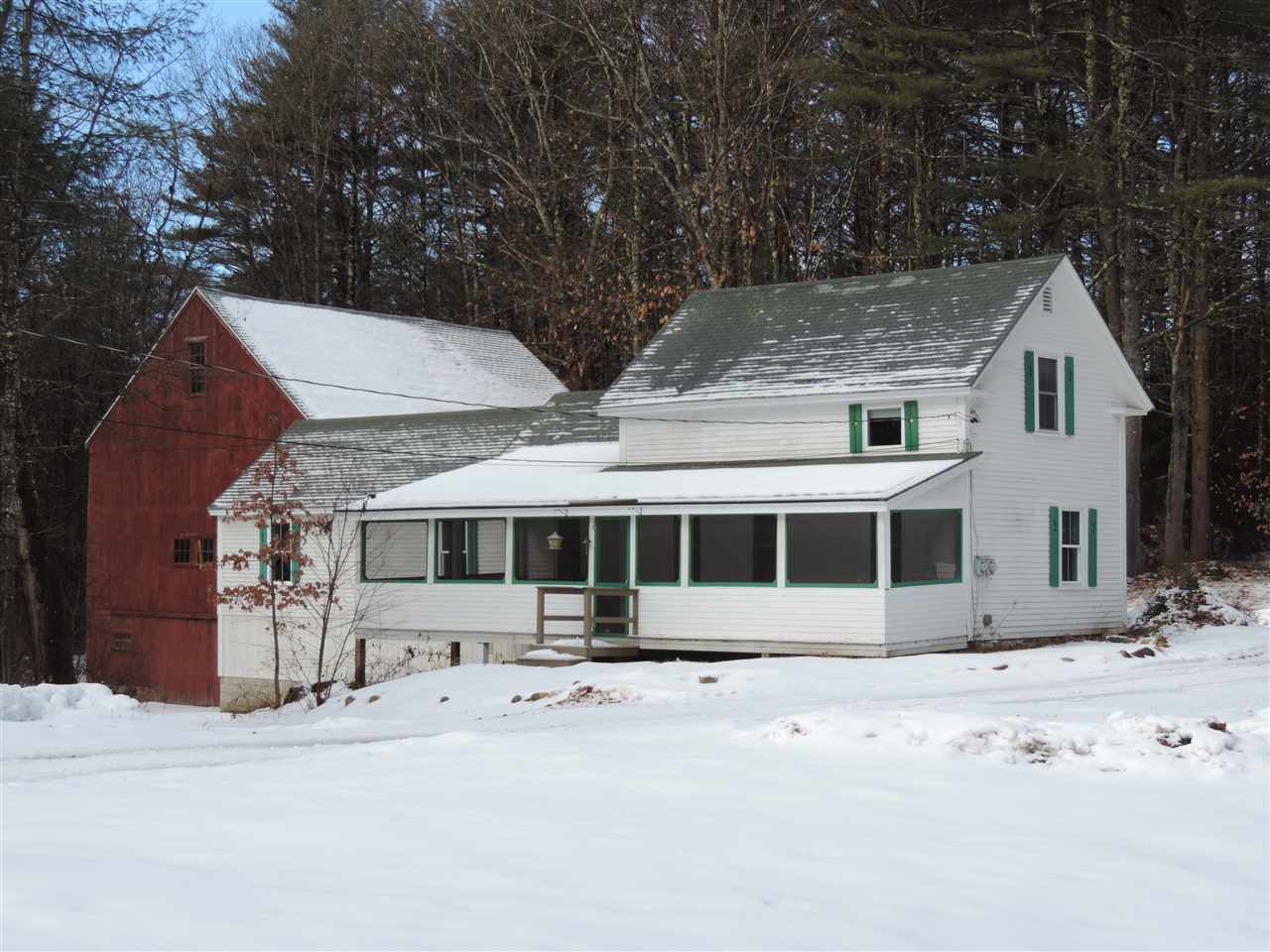 New Boston NH Home for sale $List Price is $280,000