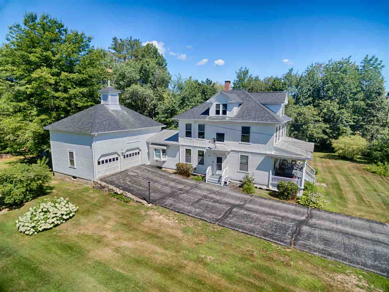 New Durham NH Horse Farm | Property  on Merrymeeting Lake