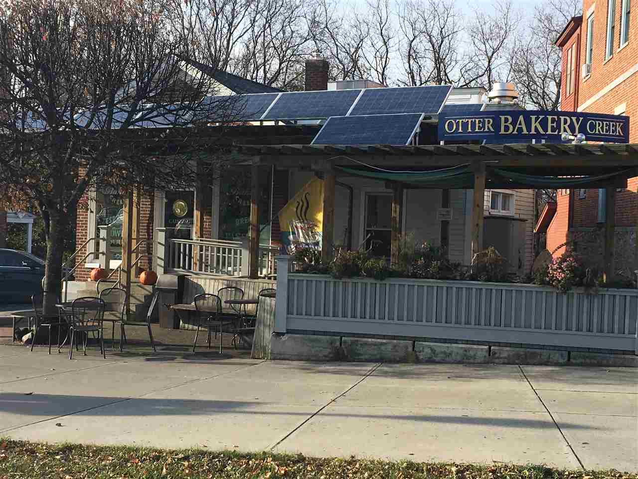 Mention the name, Otter Creek Bakery, and the response will be accolades and smiles every time.  This iconic downtown Middlebury hub is a pillar of the community.  Its reputation is stellar and its role well cemented in the minds of all who have lived in Middlebury over the past thirty years.    On the main thoroughfare in the heart of downtown, Middlebury, this little bakery is hard to top!   Hand crafted products with local ingredients provide a food emporium, from lattes to pate!  The bakery is always hopping, serving up deliciousness from early morning til the end of the day, seven days per week, catering to the breakfast, lunch, and afternoon espresso crowd.   The open kitchen invites social interaction and mutual affection between those in front and behind multiple display cases.  This business has won its way into the hearts of all who know it.    Behind the scenes are Ben and Sarah Wood who have owned the Bakery for three decades.  They can't say enough about the loyalty of their customers and staff.  There is love all round- in the products freshly made daily, the customers, and the staff, many of whom have been working at the bakery for years.  A new owner can expect to build on this incredible foundation but be confident that there is plenty of upside.