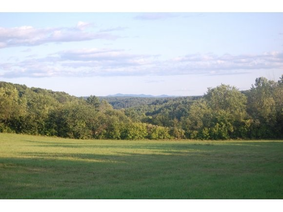 This very private 78+ acre parcel is located on a dead-end dirt road.  The large south-sloping rolling meadows provide sweeping long-range views, while the wooded hillsides bordering the east and west provide complete privacy.  This active farmland includes 8 acres of hay meadow and 23 acres of pasture.  The land is a watershed for the Lemon Fair River and includes a number of small streams with beaver dams at the southern end.  There is an existing waste water system and state permit for a 3-bedroom residence and well.  There is an active equestrian community and trails.  Middlebury College and the village of Middlebury are 11 miles away, while Burlington is 40 miles away. Covenants apply to the property. Owner is a licensed real estate salesperson.