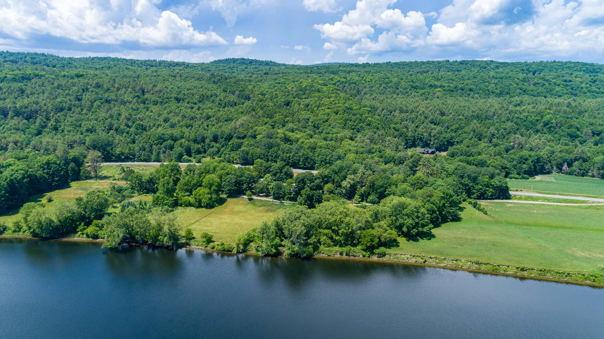 Showing southern field on River--another housesite subdivision potential?