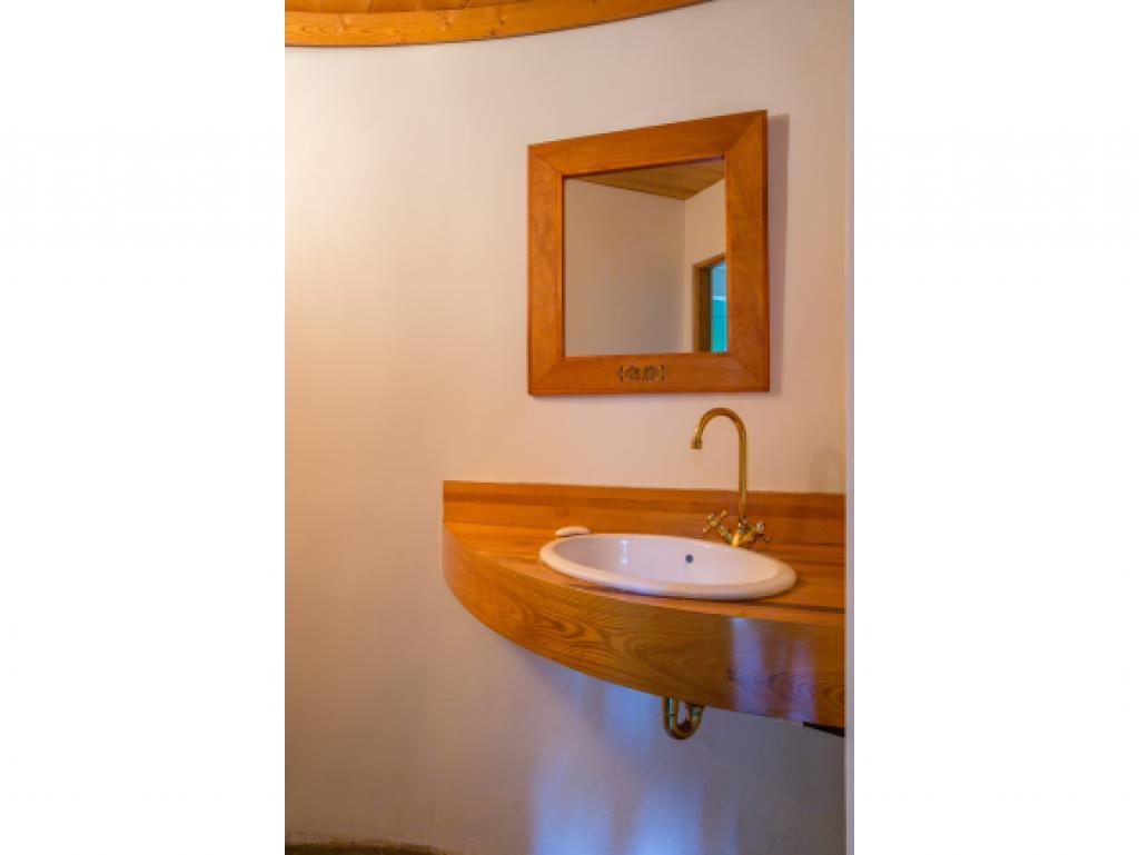 3/4 bath in lower level