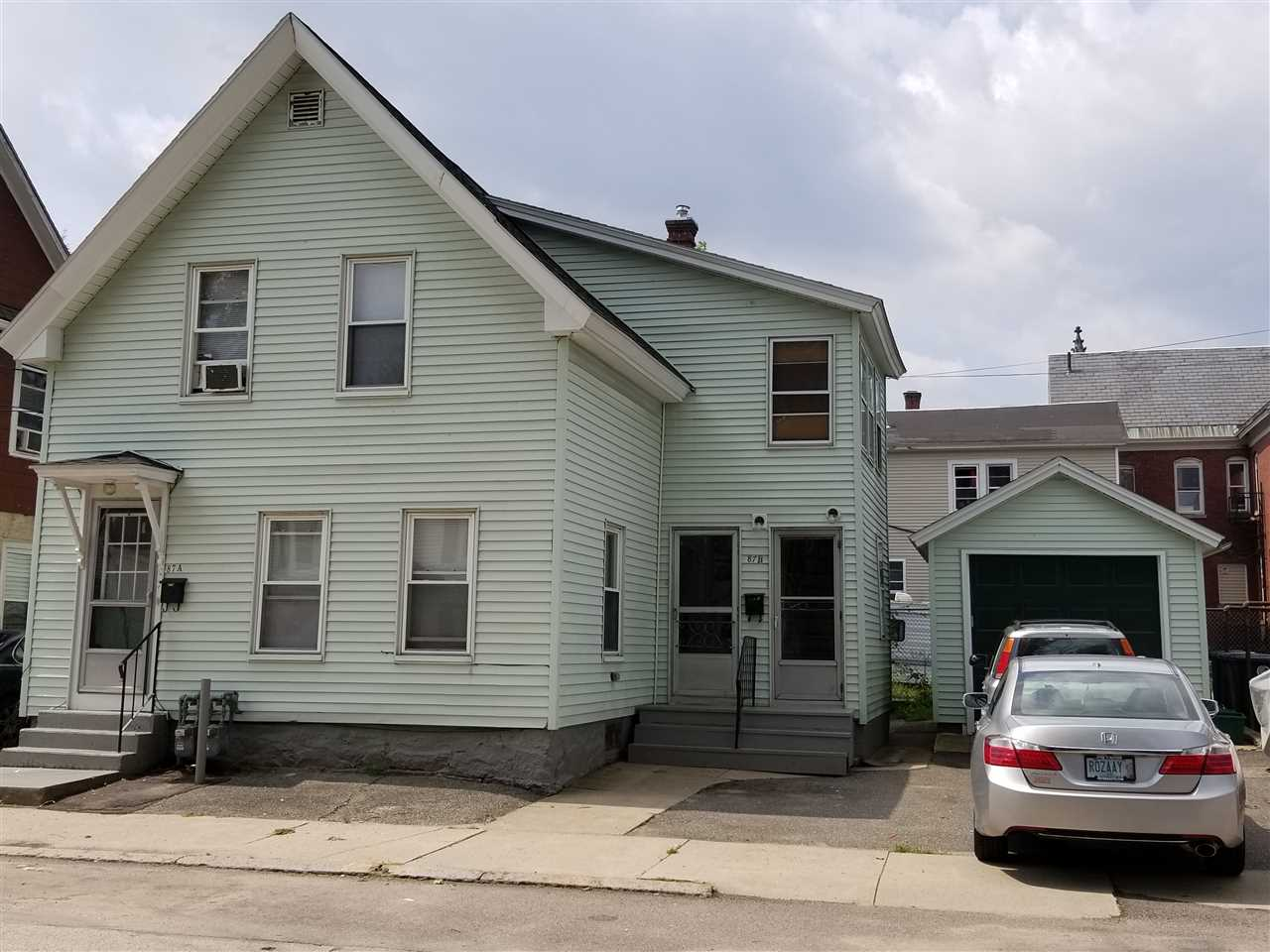 Nashua NH Multi Family for sale $List Price is $199,900