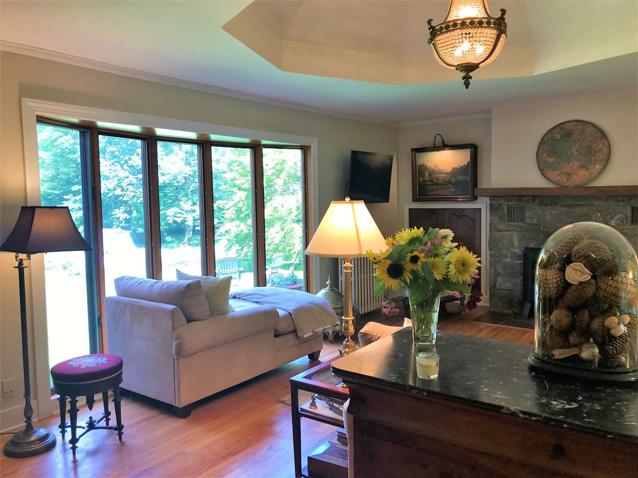 Arlington VTHorse Farm | Property  on Battenkill River