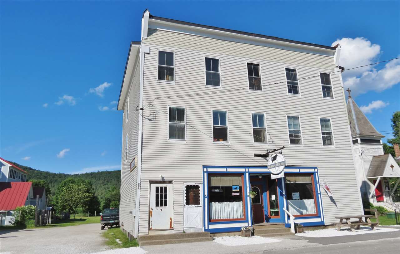 Village of Proctorsville in Town of Cavendish VT Commercial Property for sale $List Price is $395,000