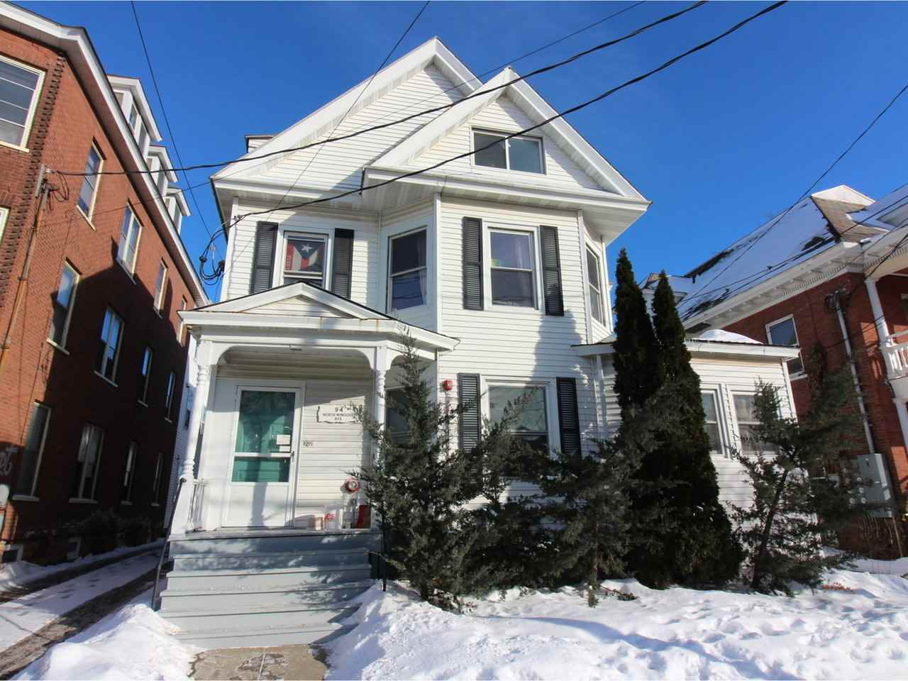 Prime Burlington Multi-Family Opportunity. Located just a couple of blocks from Church Street. 8 prime apartments in two buildings. Easy to rent 1 bedroom, 3 bedroom and studio apartments. Well maintained buildings with a sprinkler system and plenty of parking. Tenants love being so close to  downtown, the waterfront, colleges and hospital.