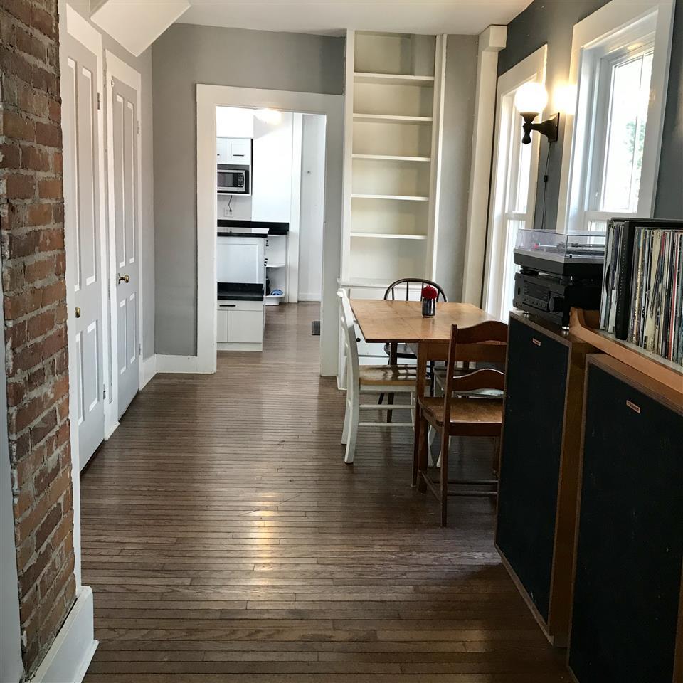 Open Floor Plan with Built-Ins