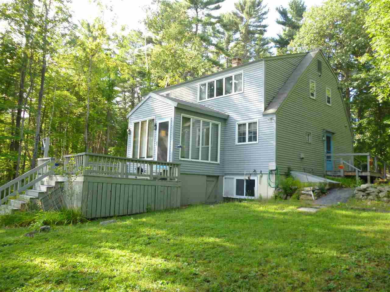 VILLAGE OF MIRROR LAKE IN TOWN OF TUFTONBORO NH  Home for sale $319,000