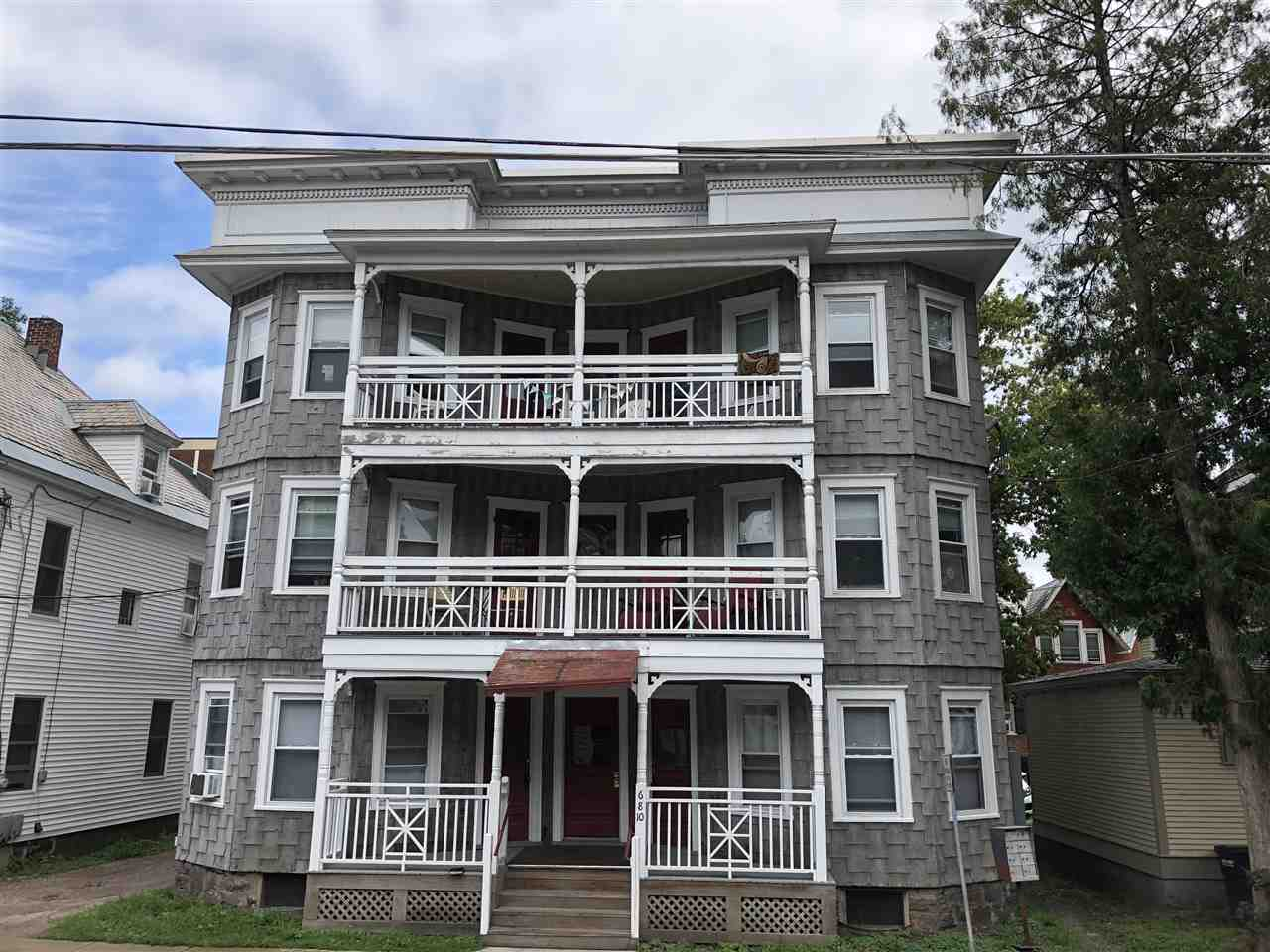 Located in the heart of Burlington, Vermont this 6 unit apartment is a great investment opportunity.  Greene Street is an ideal location, perfect for undergrad and graduate students attending the University of Vermont or Champlain College and young professionals working in the greater Burlington area and surrounding communities.  Sited on a residential street, this 3-story house offers six 3-bedroom apartments for rent.  All apartments include spacious living rooms, plenty of outdoor living space, and large bedrooms.  Well maintained by the current owner, this is a turn-key income generating property. Each unit is separately metered with laundry in basement for added income. 0% vacancy rate since 2013.