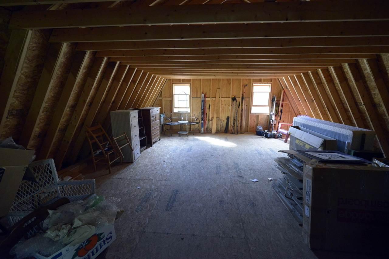 2nd Floor Storage above garage