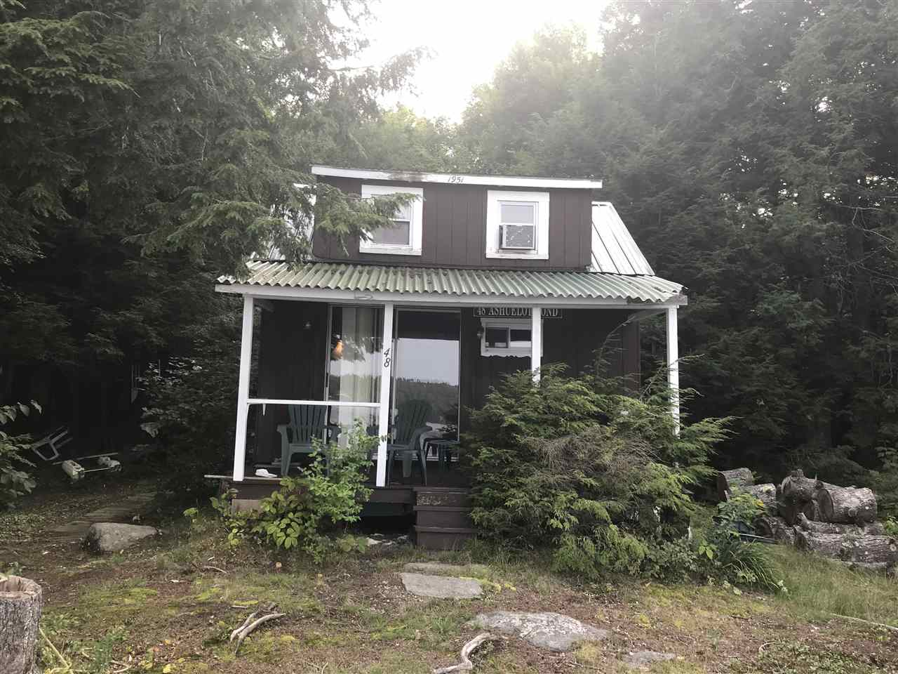 WASHINGTON NH Lake House for sale $$144,900 | $207 per sq.ft.