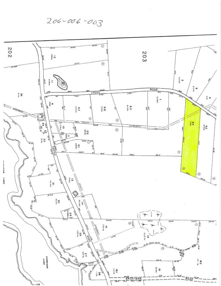 GOSHEN NHLAND  for sale $$44,500 | 7.1 Acres  | Price Per Acre $0
