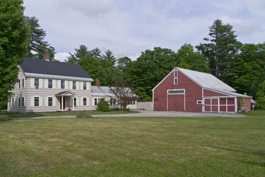 Plymouth NH Horse Farm | Property  on Pemi River