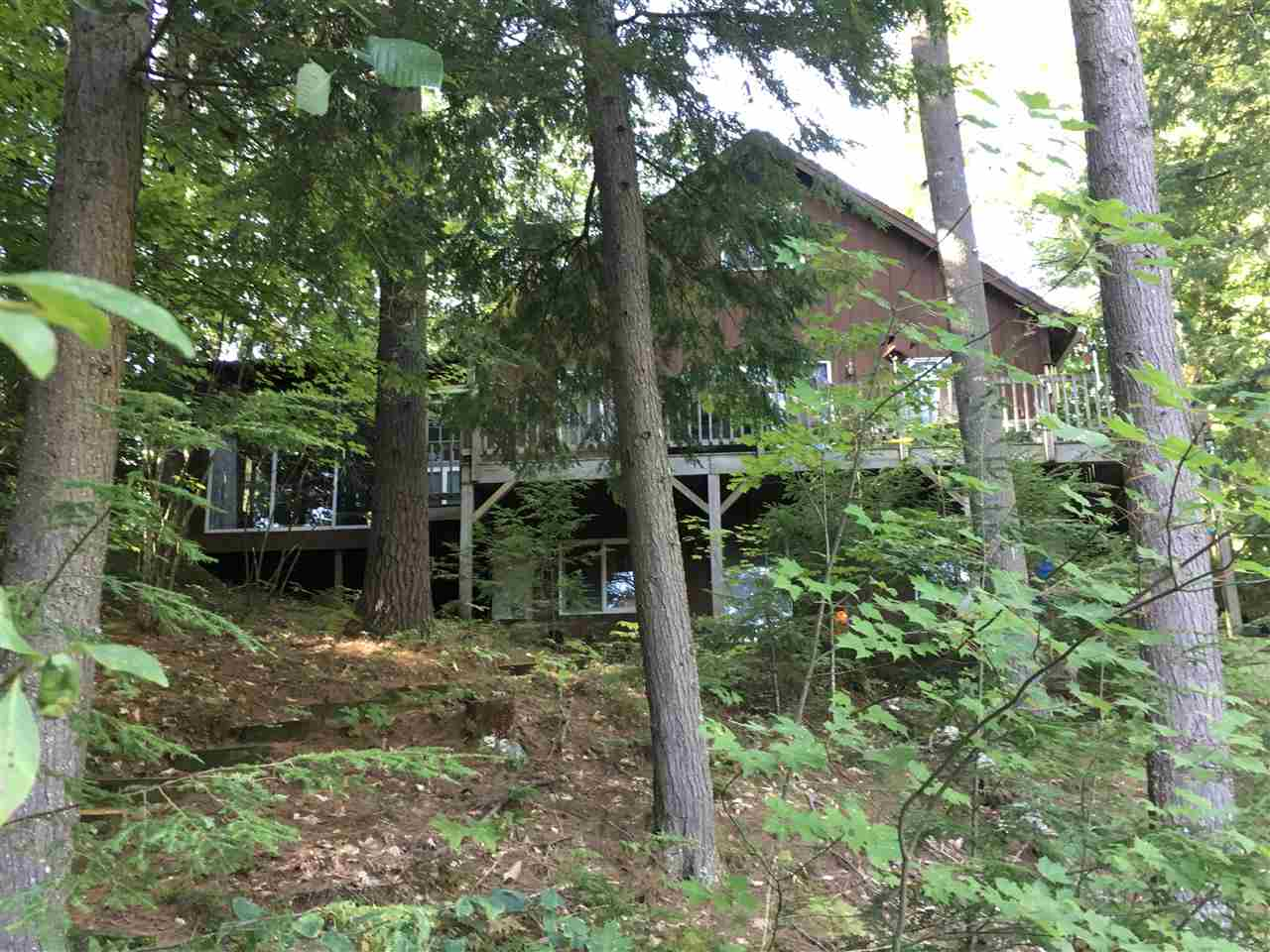 Lake Pine River Pond waterfront home for sale in Wakefield