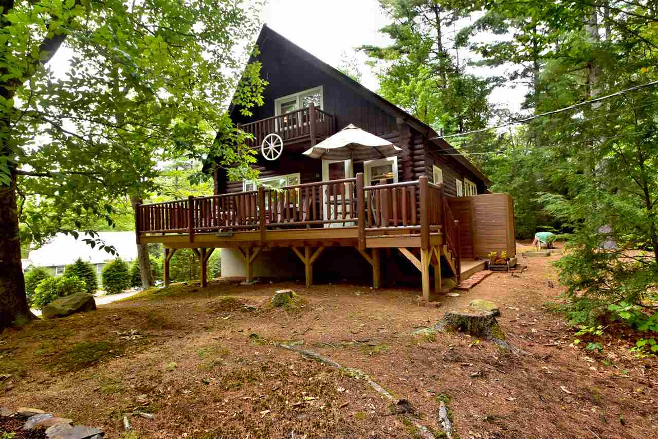 Bristol NH Lake Newfound waterfront home for sale