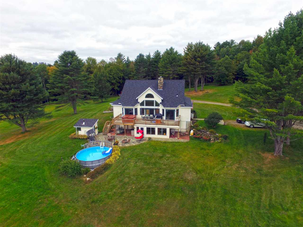 Danville VT Horse Farm | Property  on Private Man-Made Pond