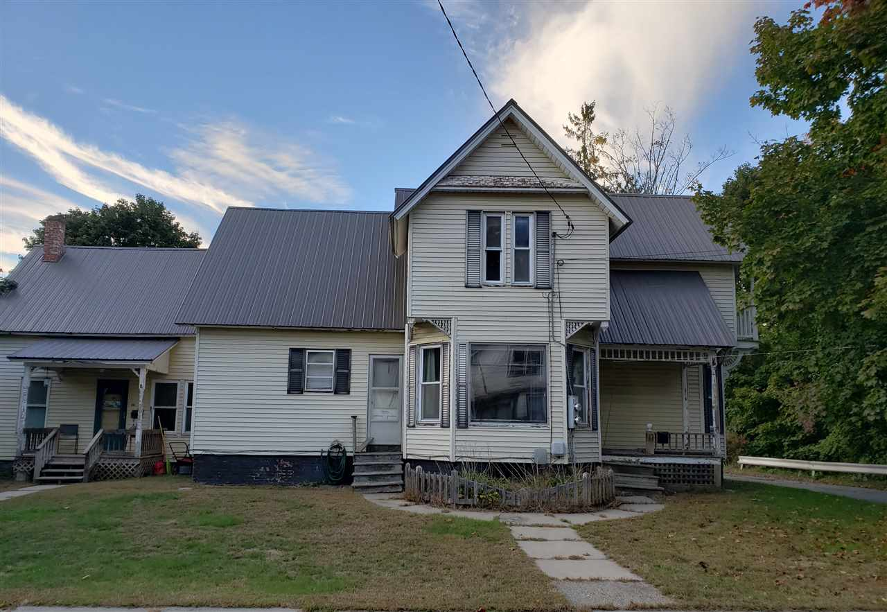 Springfield VT Multi Family for sale $List Price is $109,900