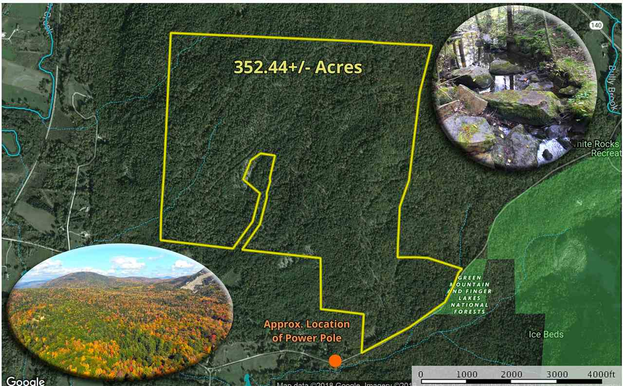 WALLINGFORD VT LAND  for sale $$225,000 | 352.44 Acres  | Price Per Acre $0
