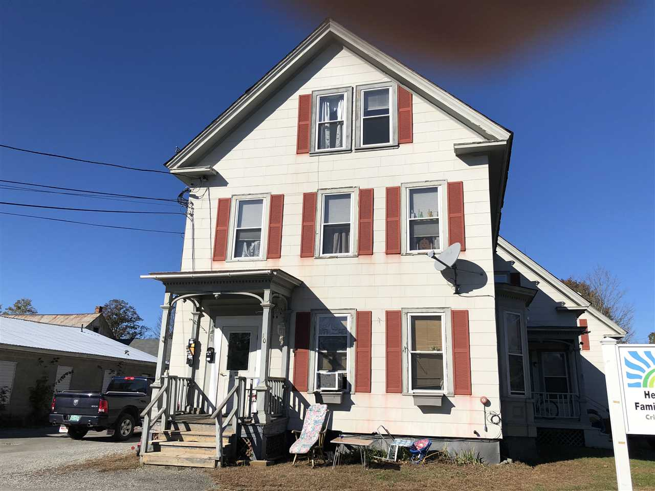 Springfield VT Multi Family for sale $List Price is $225,000