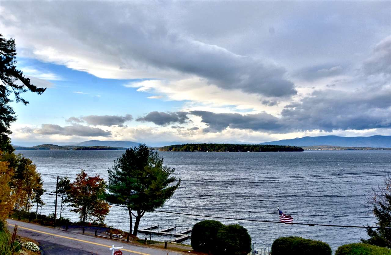Gilford NH Lake Winnipesaukee waterfront home for sale