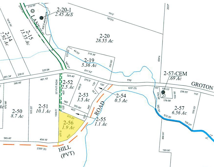 GROTON NH LAND  for sale $$14,000 | 1.9 Acres  | Price Per Acre $0