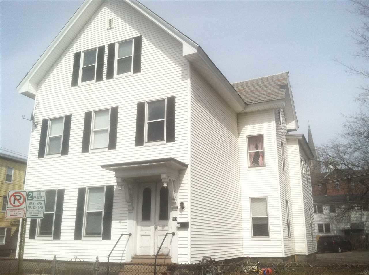 image of Manchester NH  3 Unit Multi Family | sq.ft. 4412