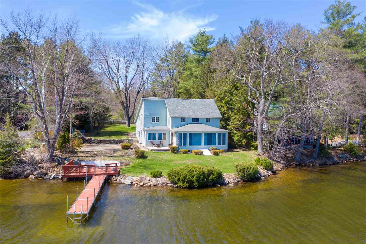 Lake Winnisquam waterfront home for sale in Sanbornton