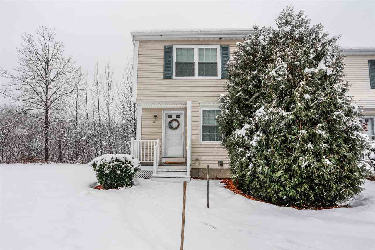 Hooksett NH Condo for sale $List Price is $181,000