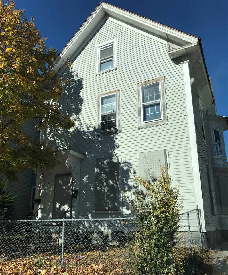 Manchester NH Multi Family for sale $List Price is $143,550