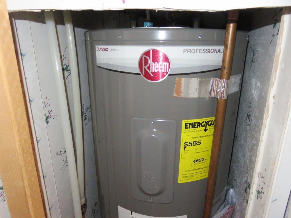 New Hot water tank