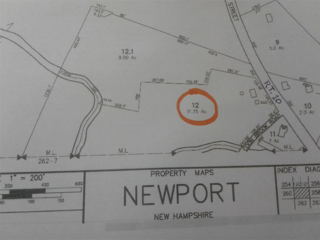 Newport NH 03773 Land for sale $List Price is $159,900