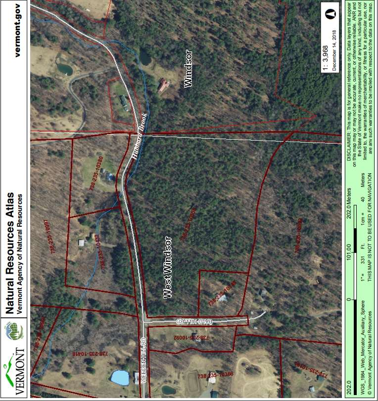 WEST WINDSOR VT LAND  for sale $$131,800 | 19.63 Acres  | Price Per Acre $0