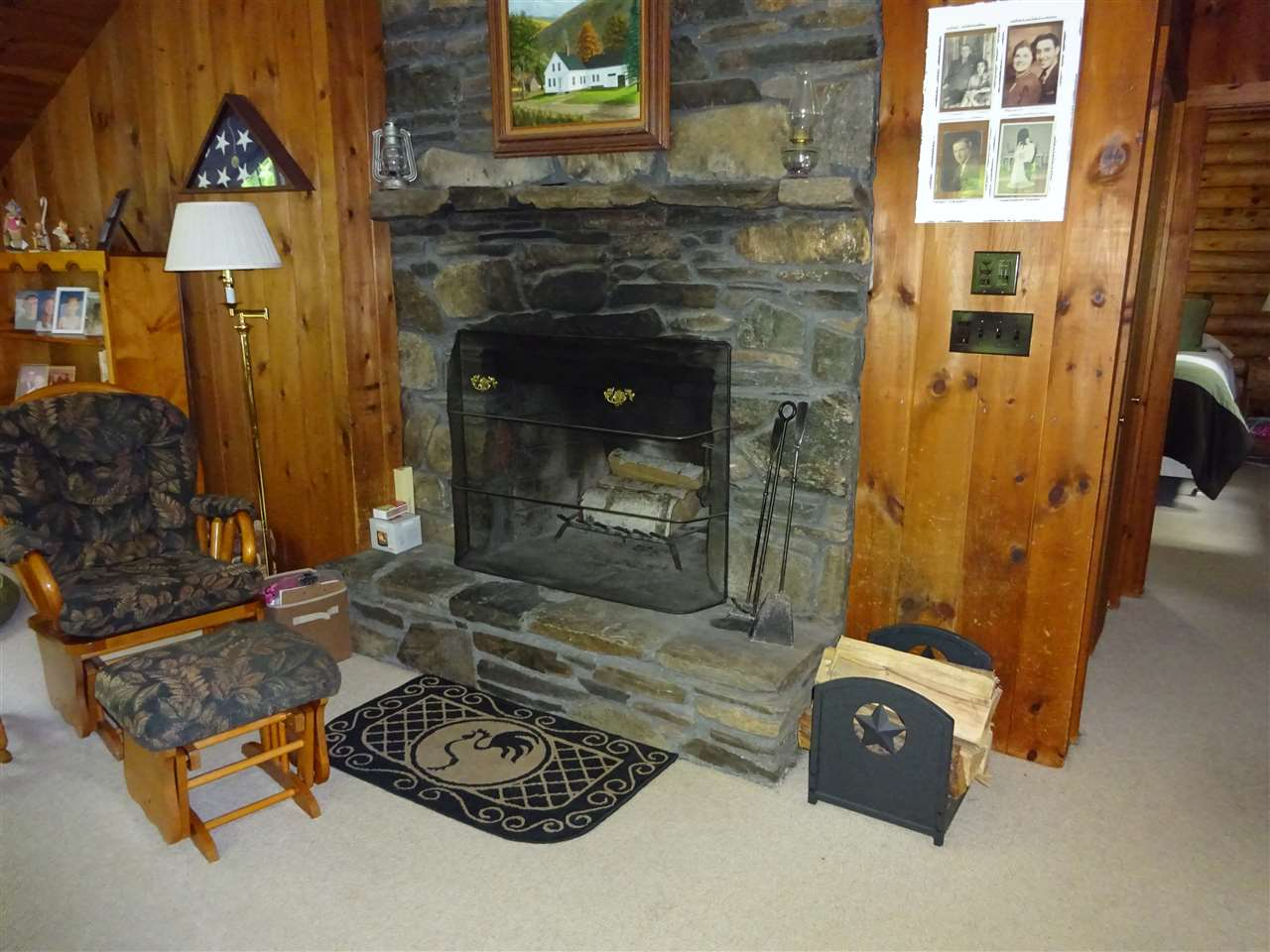 Living room fire place 13035454