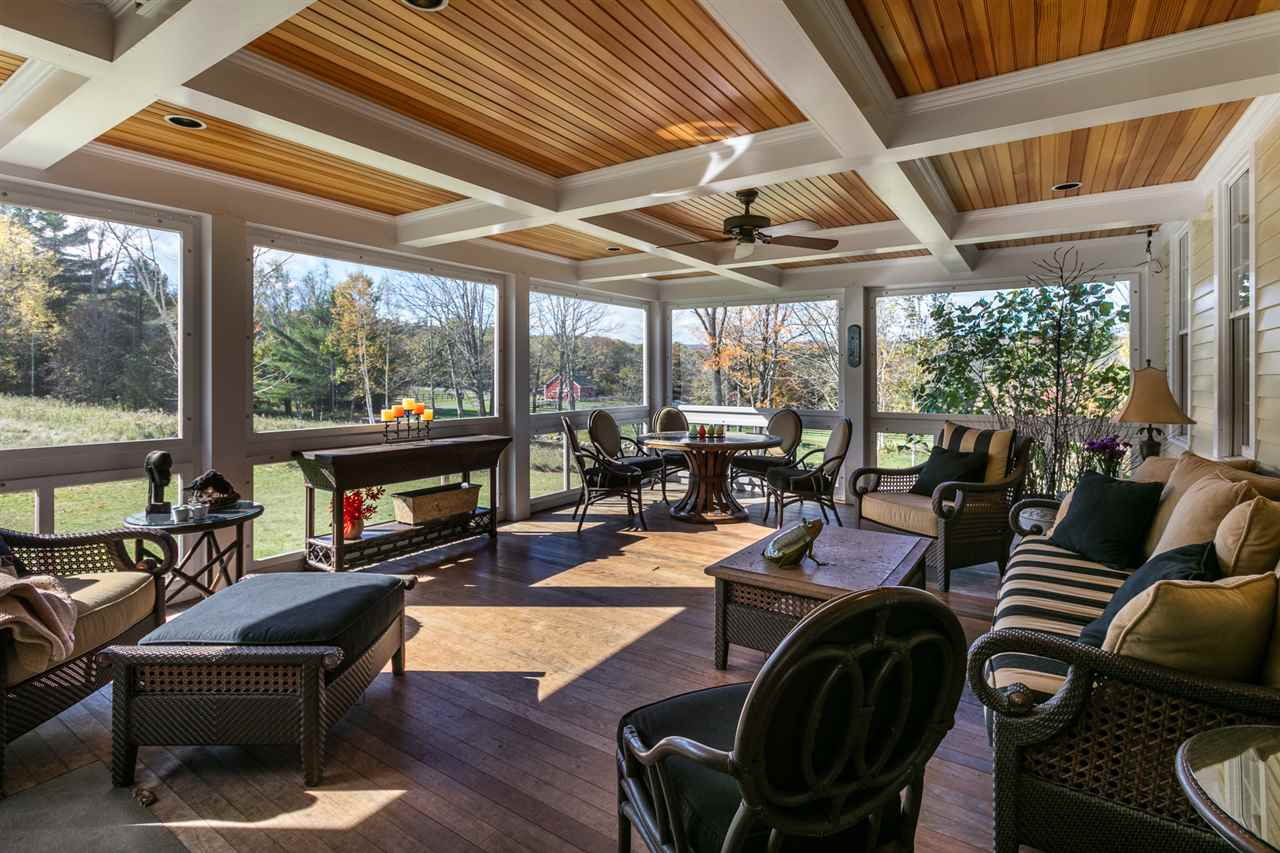 Beautiful year round screened porch