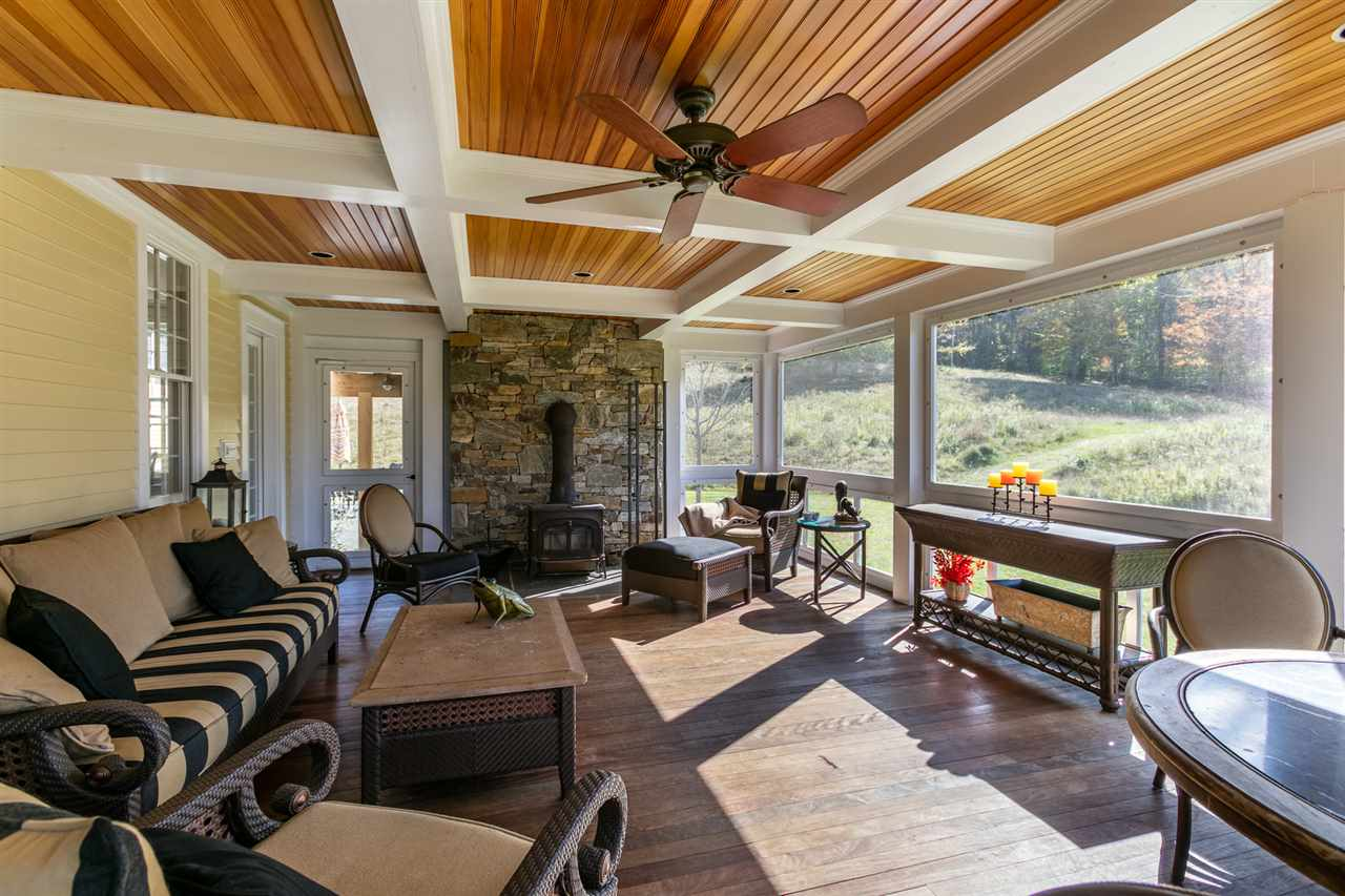 Screened porch with woodstove 13037456