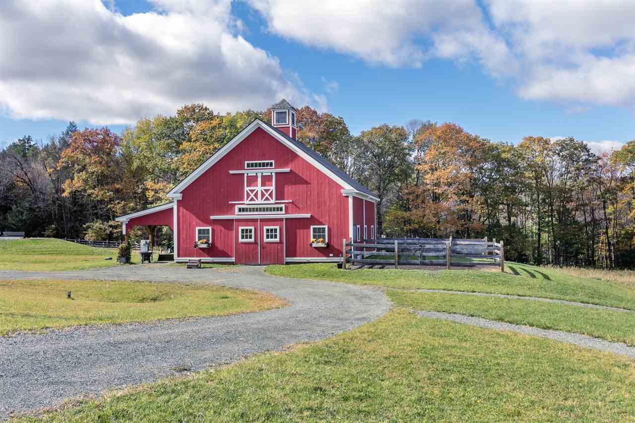 Outstanding horse barn