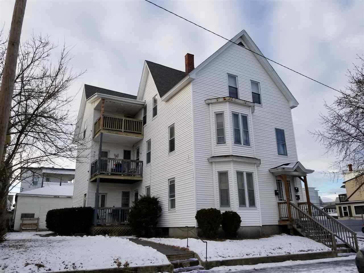 image of Manchester NH  3 Unit Multi Family | sq.ft. 4973