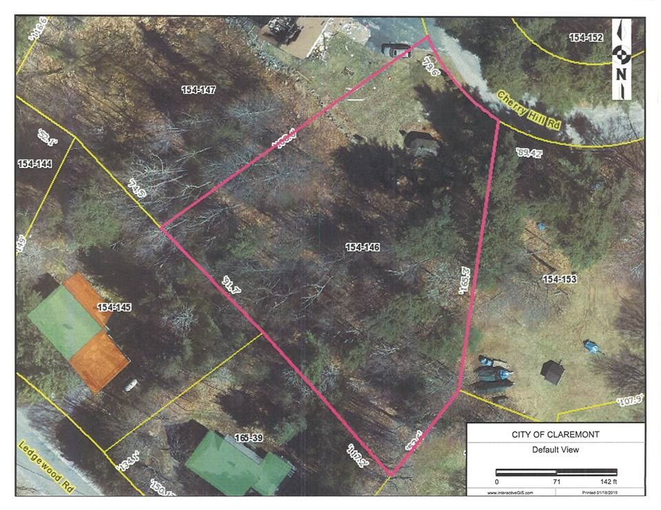 Claremont NH 03743Land for sale $List Price is $50,000