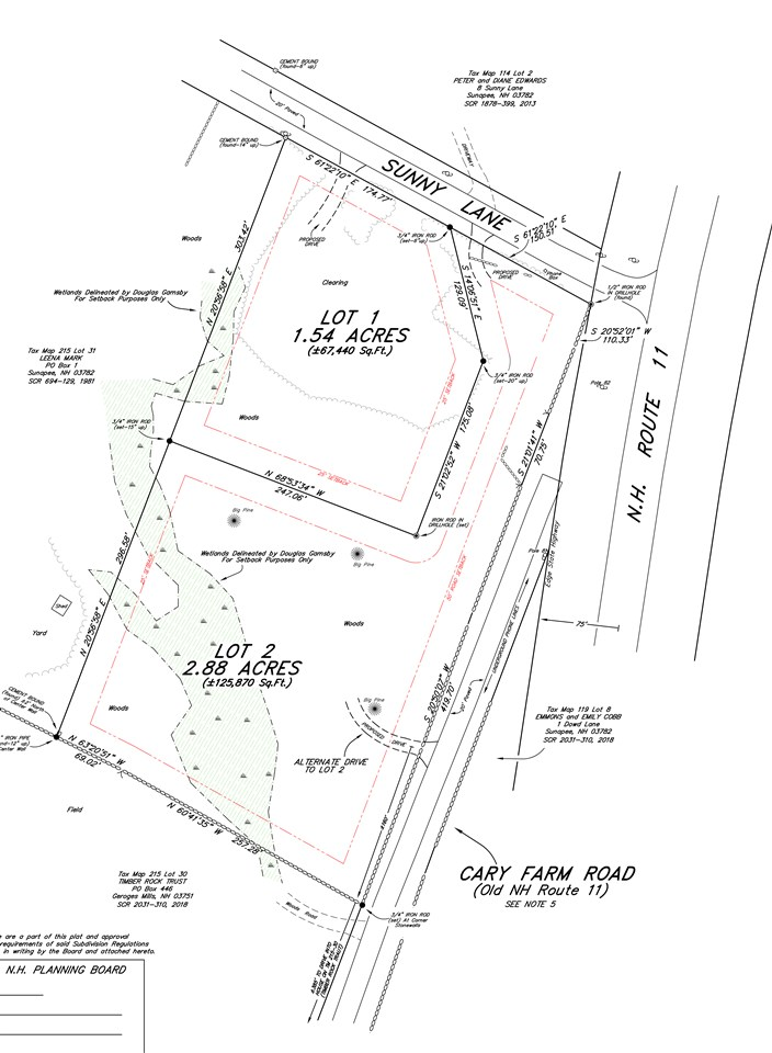 SUNAPEE NH LAND  for sale $$79,900 | 2.88 Acres  | Price Per Acre $0