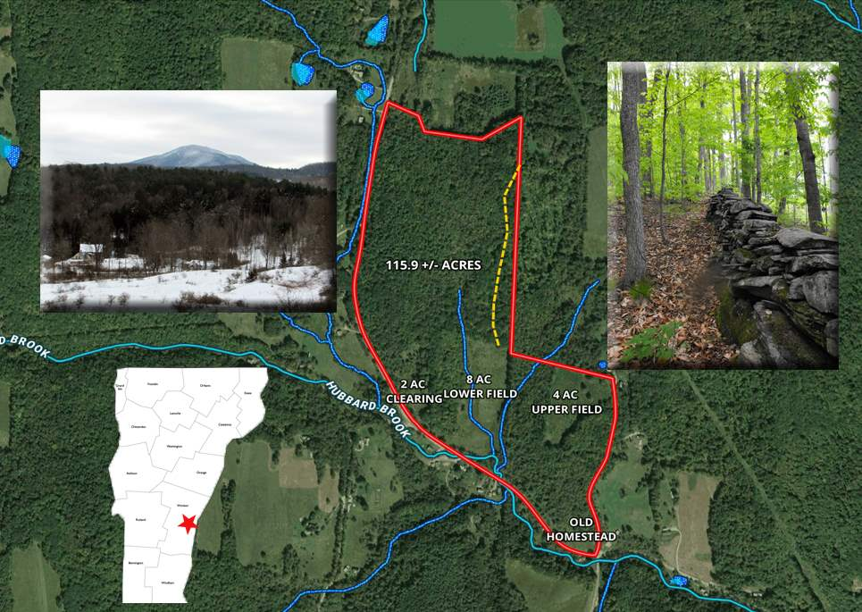 WINDSOR VT LAND  for sale $$199,000 | 115.9 Acres  | Price Per Acre $0  | Total Lots 2